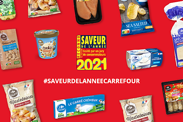 #SAVEURDELANNÉECARREFOUR
